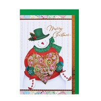 FS1092-4 크리스마스카드 카드 성탄카드