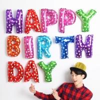 알파벳은박풍선세트 [HAPPY BIRTHDAY] 레인보우