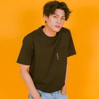 [옐로우스톤] 오버핏 티셔츠-YS102BK Black