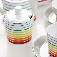 독일 알쯔버그 TRIC multi-colors sugar bowl
