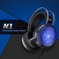 게이밍특화 RGB LED라이트 고음질 헤드셋 NUBWO N1