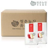 청춘농장 신선한 사과즙 실속포장 60포