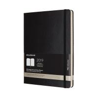 몰스킨 2019프로 위클리(세로형)/블랙 하드 XL