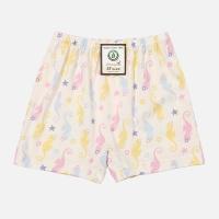 [위드오가닉] 오가닉 사각팬티 핑크해마