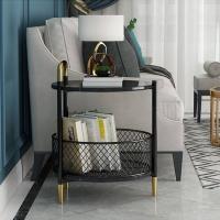 아파트32 홈 골드철제 베어 사이드테이블/바스켓선택
