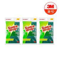 [3M]다목적 수세미(소) 5입(찌든때세척용) 3개세트