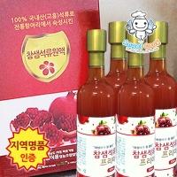 [엔젤쿡] 건강담은 참샘 석류원액 프리미엄 4병세트  AGCCSP0904