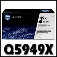 HP 정품 Q5949X (49X) Q5949 5949X 5949 LJ 1320/3390/3392