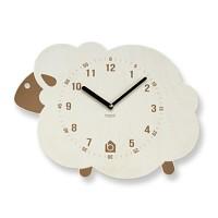 [BEZIT] BROWN LAMB Wall Clock