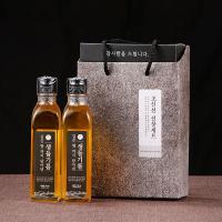 [우리농산] 국내산 생들기름180ml x 2병 감사선물세트