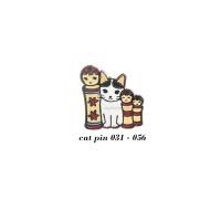 고양이의 하루 핀뱃지(no.031-056)