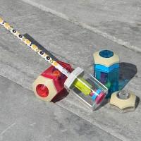 [Nakabayashi] 6단계로 길이조절하는..나카바야시 휴대용 심조절 연필깎이 HF324