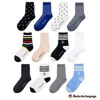 [2+1이벤트] [패션양말] daily socks 중목양말