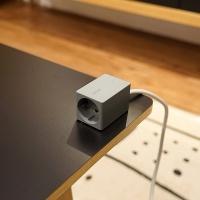 브런트 코드 - 1구 멀티탭 + USB충전포트-옵션추가 - 메탈플레이트