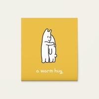 메세지카드 - a warm hug