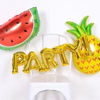 홈 파티 풍선 알파벳은박 PARTY! 골드