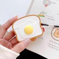 에어팟프로 케이스 실리콘 키링 식빵 pr-8118