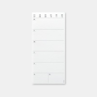 Weekly Pad