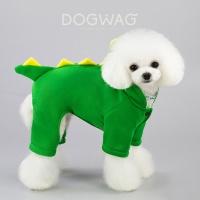 공룡 코스튬 강아지 겨울 옷 고양이 후드 올인원