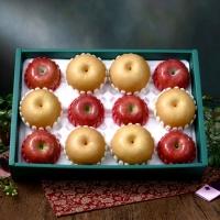 [과일농산]사과/배혼합 2호 세트 5.7kg (사과 6과+배 6과)