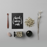 리로라 천연 아카시아 꽃차