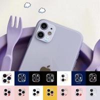 아이폰12PRO 후면 카메라렌즈 보호캡 캐릭터 강화필름