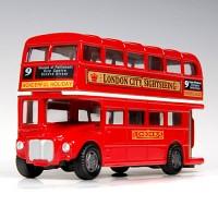 [모터맥스] 런던 2층 버스 (closed) 미니카 (76002)