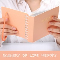 SCENERY OF LIFE MEMORY - 3x5 Photo Album ver.02 - 오렌지