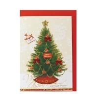 크리스마스카드/성탄절/트리/산타 해피뉴이얼(FS1019-1)