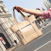 드리스 PVC투명 숄더백 세트가방