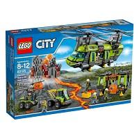 [레고 시티] 60125 화산지대 초대형 헬리콥터