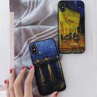 아이폰8플러스 반고흐2 카드케이스