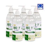 [제타]에탄올 62% 대용량 손소독 세정제 500ml 5개