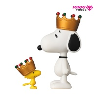 UDF PEANUTS SERIES6 CROWN SNOOPY AND WOOD STOCK SET(1711004)