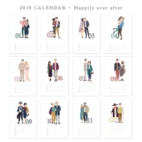 [2019 CALENDAR] Happily ever after