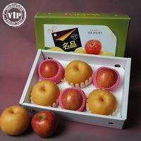[농부애락]실속 명품 사과배선물세트 2호 3kg내외(사과3과/배3과)