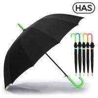 [헤즈] 12살 네온컬러 자동 장우산 HS1A1260(NEON-GRN)