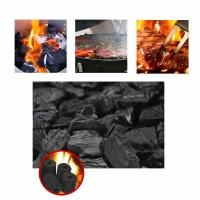 쿡레져 참숯 1kg 1+1세트 7~8인용 착화탄 포함 캠핑