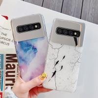 아이폰 XR XS MAX 8 7플러스 대리석 미러 젤리 케이스