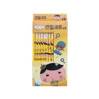 엉덩이탐정 연필 8본 (5묶음)