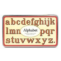 Cavallini 스탬프세트-Alphabet 소문자