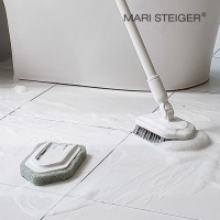 이지온 스크러버 길이조절 욕실청소세트