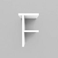 미니큐빅스 이니셜 벽선반-F