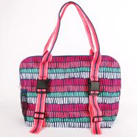 [ALL FOR COLOR]YOGA TOTE - TRIBAL STRIPE