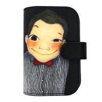 [육심원]가죽카드지갑2 루이블랙