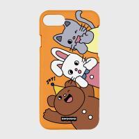 Animal friends-orange(color jelly)