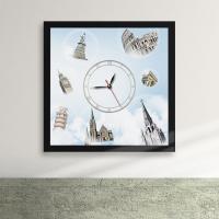 cw113-가고싶다세계명소액자벽시계_디자인액자시계