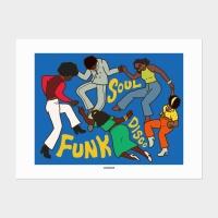 [카멜앤오아시스] Dance of 70s 댄스 포스터