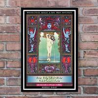 160229 Woodstock Concert Promo 우드스탁 빈티지 포스터