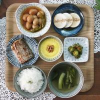 일본식기 와카메나고리 반상세트
